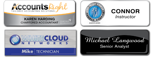 Name Badges Products